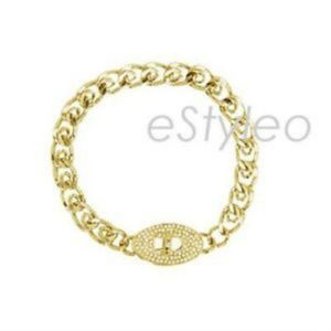Fossil Brand Chain Bracelet Turnkey Stainless Stee
